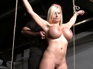 BDSM, Big Tits, Blonde, Bold, Bondage, Caucasian, Couple, Domination, Electrified, Fetish,