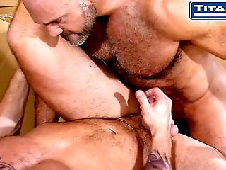 Anal Sex, Big Cock, Blowjob, Brunette, Couple, Daddies, Deepthroat, Ethnic, Hairy, HD,