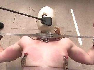Bdsm, Venda, Careca, Bondage , Sem Peitos, Modelo, Enema, Dominante, Fetiche, Hd,
