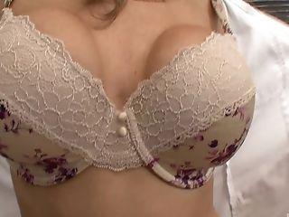 Babe, Big Tits, Bra, Cute, Fingering, Jelena Jensen, Lesbian, Licking, Massage, MILF,