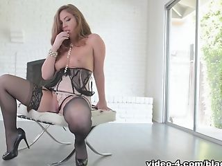 Big Ass, Black, Cumshot, Interracial, Lingerie, Maddy Oreilly, Natural Tits, Pornstar, Redhead,