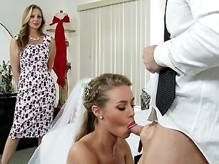 American, Bedroom, Behind The Scenes, Blonde, Bride, Casting, Condom, Dress, Family, FFM,