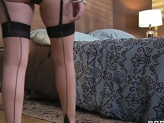 Condom, HD, Husband, Marie Mccray, MILF, Natural Tits, Phone, Redhead, Wife,