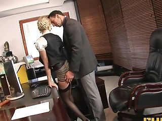 Anal Creampie, Anal Sex, Big Tits, Blonde, Blowjob, Boss, Captive, Donna Bell, Facial, Fingering,