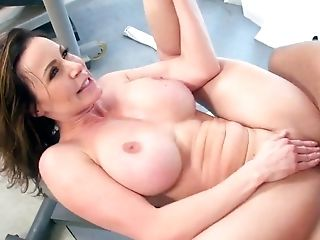 Big Tits, Brunette, Coach, Cowgirl, Cum In Mouth, Cumshot, Dick, Doggystyle, Facial, Fake Tits,