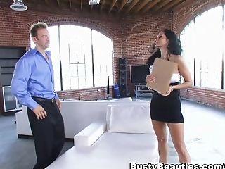 Anal Sex, Ava Addams, Big Tits, Brunette, Exotic, Facial, Hardcore, Pornstar,