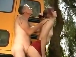 Anal Sex, Bus, Skinny,
