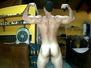 Bareback, Cute, Flexible, HD, Jerking, Jock, Masturbation, Muscular, Sexy, Solo,