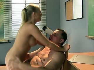 Blonde, Blowjob, Grandpa, Old And Young, Teen,