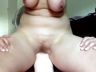 Clamp, Dildo, Ginger, HD, Masturbation, Saggy Tits,