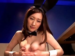 Asian, Big Tits, Blowjob, Brunette, Couple, Cumshot, Ethnic, HD, Japanese, Lingerie,