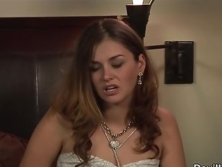 Allie Haze, Blowjob, Brunette, Cumshot, Cunnilingus, Hardcore, HD, Natural Tits, Teen,