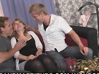Granny, Group Sex, Mature, Old, Pick Up, Pussy, Sexy, Threesome,