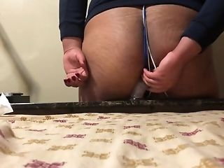 Ass, BDSM, Bondage, Clamp, Dildo, Jerking, Sex Toys, Sissy, Small Cock, Solo,