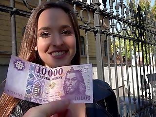 Amateur, Amirah Adara, Babe, Blowjob, European, Hungarian, Money, Pick Up, POV, Public,