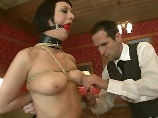 БДСМ, Bella Rossi, Cherry Torn, фетиш, групповой секс, наказание,