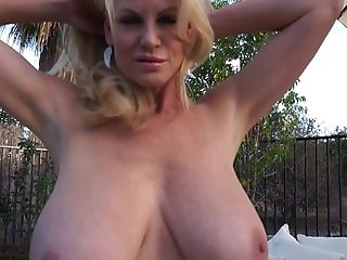 Babe, Big Tits, Blonde, Blowjob, Couple, Dick, Exhibitionist, Handjob, Hardcore, Kelly Madison,