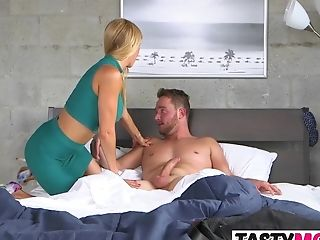 Big Cock, Big Tits, Cougar, MILF, Mom, Old, Old And Young, Stepmom, Teen, Threesome,