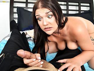 Big Natural Tits, Blowjob, Brunette, Chubby, Curvy, Daddies, Daughter, Hardcore, Natural Tits, Panties,