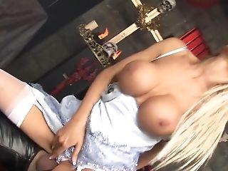 Antonia Deona, Big Tits, Blonde, Facial, Lingerie, Pornstar,