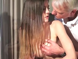 Black, Blowjob, Brunette, Kissing, Old, Old And Young, Oral Sex, Petite, Riding, Sexy,