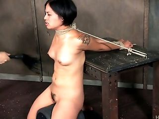BDSM, Bondage, Bound, Ethnic, Rough, Sex Toys, Sybian,
