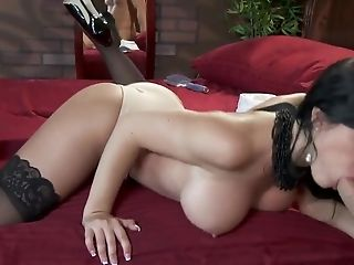 Big Ass, Big Cock, Big Tits, Blowjob, Condom, Doggystyle, HD, Pornstar, Rebeca Linares, Spanish,
