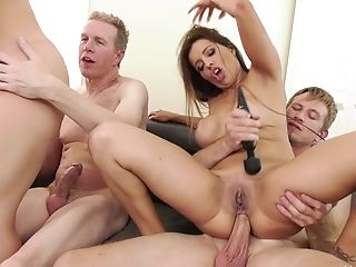 Anal Sex, Ass, Ass Licking, Bareback, Big Ass, Big Tits, Blowjob, Cowgirl, Cum, Cum In Mouth,