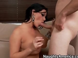 Angelina Castro, Big Ass, Big Cock, Big Tits, Blowjob, Brunette, Cuban, Facial, Handjob, HD,