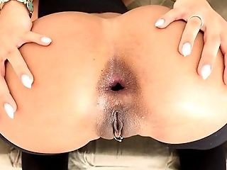 Anal Sex, Ass Fucking, Blowjob, Brunette, Couple, HD, Oral Sex, Pornstar, Stockings,
