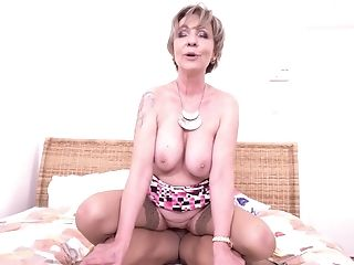 Amateur, Blonde, Cum, Cum Swallowing, Granny, Mature, Riding, Short Haired,