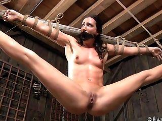 BDSM, Black, Bondage, Fetish, Pussy, Spanking, Submissive, Torture, Vibrator,