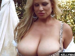 Big Natural Tits, Big Tits, Cumshot, Hardcore, HD, Kelly Madison, MILF,