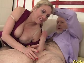 Big Tits, Cala Craves, Granny, Mature, Old,