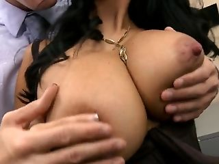 Anal Sex, Ava Addams, Big Cock, Big Tits, Boss, Condom, French, HD, MILF, Secretary,