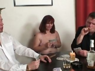 Felching, Granny, Hairy, Mature, Old, Pussy, Riding, Threesome,