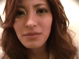 Blowjob, Clothed Sex, Couple, Cum Swallowing, Dirty, Ethnic, Hardcore, Japanese, Long Hair, Nylon,