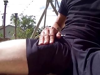 Amateur, Big Cock, Brunette, Caucasian, Cum, Ethnic, Flexible, HD, Nature, Outdoor,