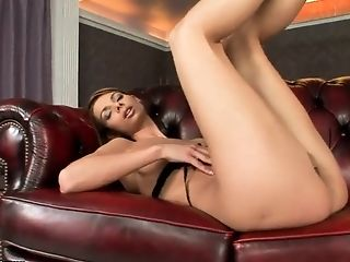 Betty Saint, Bold, Brunette, Dildo, HD, Jerking, Masturbation, Sex Toys, Solo, Teen,