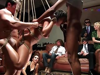 Abuse, American, BDSM, Beauty, Bondage, Charley Chase, Couch, Domination, Gangbang, Group Sex,