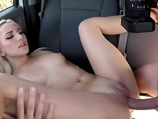 Adorable, Amateur, Ass, Backseat, Blonde, Car, Cowgirl, Doggystyle, HD, Legs,