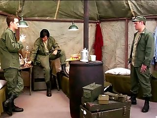 Army, Babe, Long Hair, Masturbation, Model, Natural Tits, Parody, Solo,