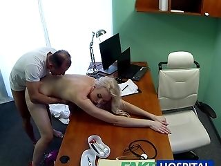 Amateur, Babe, Blonde, Blowjob, Clinic, Creampie, Dick, Examination, Hospital, Reality,