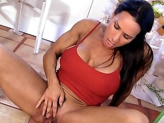Anal Sex, Babe, Big Tits, Female Bodybuilder, Hairy, HD, Masturbation, Muscular, Sex Toys, Solo,