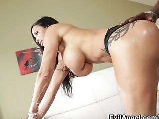Amazing, Big Ass, Big Tits, Brunette, Interracial, Jewels Jade, Lexington Steele, MILF, Pornstar,