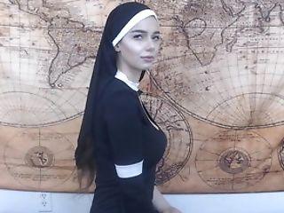 Anal Creampie, Nuns, Sex Toys, Solo,